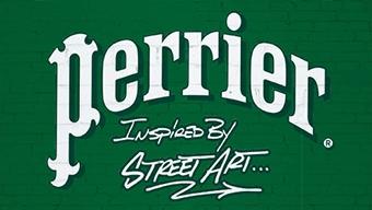 Logo Perrier Street Art