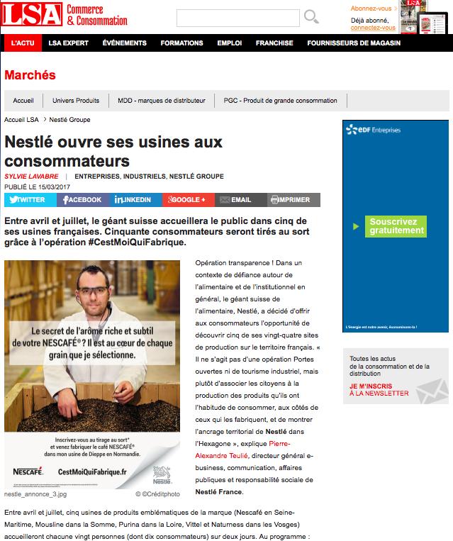 #CestMoiQuiFabrique dans la presse