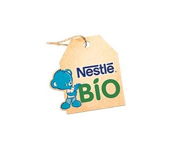 Logo Nestle BEBE GAMME BIO