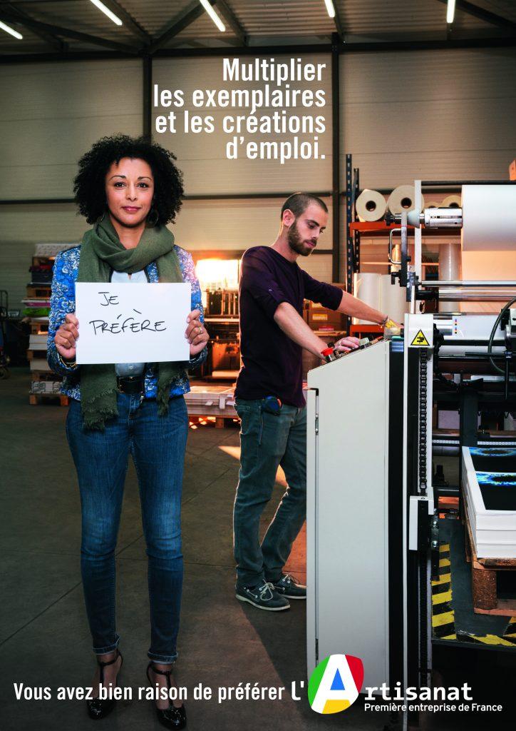 Campagne JE PREFERE Artisanat - NOVEMBRE 2017