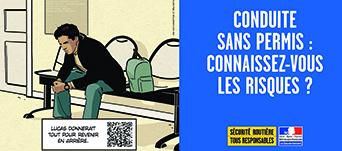 Campagne Sécurité routière - Novembre 2017 - Visuel Actualité