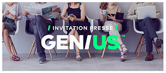 GENIUS Invitation presse - table ronde 28 juin 2018