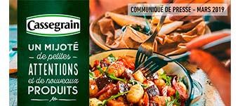 Actualité - Nouveaux produits Cassegrain - Mars 2019 - Mijoté de petites attentions